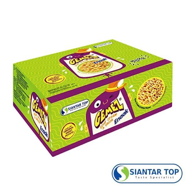韓國 Enaak 奶油洋蔥小雞點心麵 (16g×30包/盒) 香脆點心麵 奶油洋蔥小雞麵 點心脆麵 小雞麵 點心麵