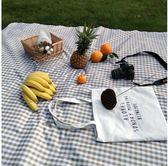 網紅野餐墊防潮墊ins風戶外防水便攜草坪墊田園日式野餐布可機洗    名購居家