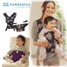 超值2件組 日本輕巧型多功能餐桌背帶+寶...