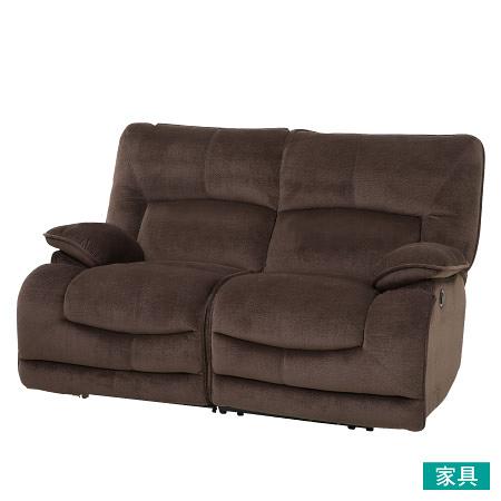 ◎布質2人用電動可躺式沙發 HIT DBR NITORI宜得利家居