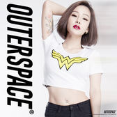 OUTER SPACE X DC正義聯盟-Wonder Woman性感T(台灣限定)