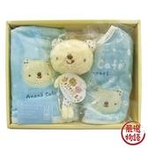 【日本製】【anano cafe】日本製 嬰幼兒彌月禮盒 三件組C 藍色 SD-2876 - 日本製 熱銷