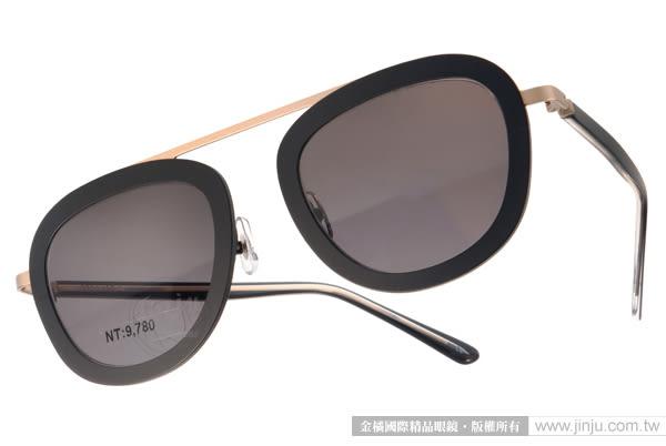 STEALER 太陽眼鏡 KARMA C08 (黑-金) 現代時尚飛行款 # 金橘眼鏡