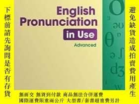 二手書博民逛書店English罕見Pronunciation In Use Advanced With AnswersY256