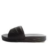 Nike Benassi Solarsoft [705474-091] 男鞋 拖鞋 涼鞋 黑 灰