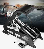 年終大促 INBIKE 腳踏打氣筒高壓便攜式自行車電動車摩托車汽車腳踩打氣泵