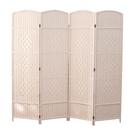 風水屏風擋煞廁所臥室遮擋床邊平風家用客廳摺疊行動小戶型隔斷墻  ATF  極有家