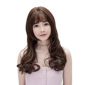 整頂假髮(長髮)-唯美浪漫韓系捲髮女假髮3色73vs74【巴黎精品】