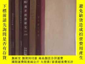 二手書博民逛書店南開經濟研究罕見1985-1991年共35期 7本合訂本 詳見描