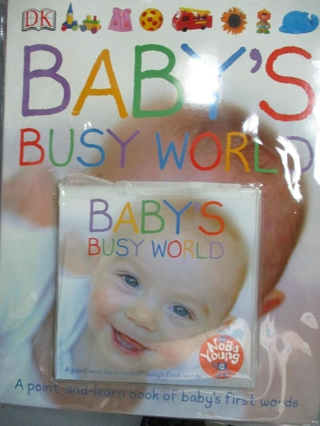 【書寶二手書T6/少年童書_PGU】Babys Busy World_Dawn Sirett