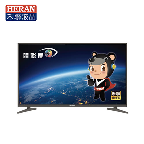 [HERAN 禾聯]50型 4K智慧聯網LED液晶電視顯示器+視訊盒 HD-504KC1+MI5-C01