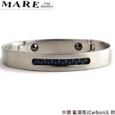 【MARE-316L白鋼】系列:米蘭 藍潮風(Carbon)L 款