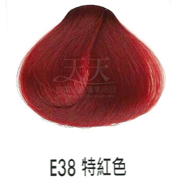 【專業推薦】耐婷 亮彩染髮劑 E38-特紅色 60g [73057]