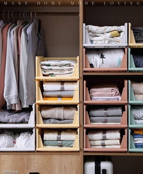 抽屜式衣服收納箱 小款