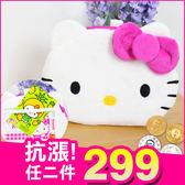 《現貨》Hello Kitty 凱蒂貓 正版 絨毛 大頭 票卡夾 零錢包 悠遊卡套 捷運卡夾包 B10183