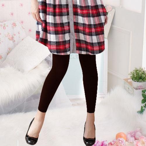 220丹厚款天鵝絨保暖褲襪(9分款) 百搭性感 纖腿美型 - 香草甜心【34005】