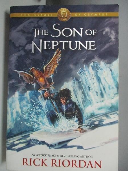 【書寶二手書T1/一般小說_ANW】The Heroes of Olympus, Book Two: The Son of Neptune