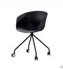 桌椅 卡步特電腦椅家用書房滾輪洽談椅辦公會議椅北歐現代簡約休閒椅子  星河光年DF