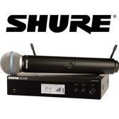 【敦煌樂器】SHURE BLX24R/B58 無線麥克風系統搭配 BETA58 麥克風