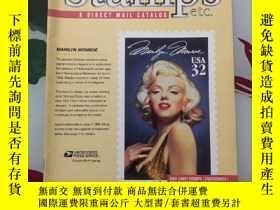 二手書博民逛書店stamps罕見etc a direct mail catalog April. May. June 1995