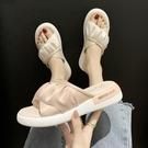 拖鞋女外穿厚底ins潮時尚百搭夏天鞋 2020年新款夏季網紅超火涼拖