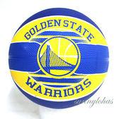 【SPALDING 斯伯丁】 NBA籃球 Jr 兒童3號球 Warriors 勇士隊徽 SPA83617 [陽光樂活]