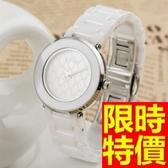陶瓷錶-撫媚唯美潮流情侶款腕錶(單隻)4色55j12【時尚巴黎】