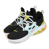 【五折特賣】Nike 休閒鞋 Wmns React Presto 黑 藍 低筒 魚骨鞋 運動鞋 女鞋【PUMP306】 CJ0554-001