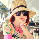 Qmishop 韓版海洋音樂季春夏必備漁夫帽沙灘帽草帽 遮陽帽【QG1761】