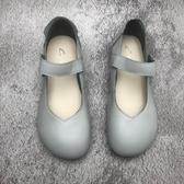 女瑪麗珍鞋 新款真皮女單鞋舒適平底鞋瑪麗珍鞋工作鞋女【快速出貨】