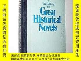 二手書博民逛書店【英文版】A罕見Treasury of Great Histor
