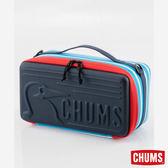 CHUMS 日本 Booby 收納盒 玩具收納箱(M) 藍白條紋 CH621205W042
