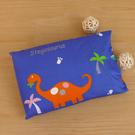 鴻宇 兒童乳膠枕 防蹣抗菌 恐龍公園 美國棉授權品牌 台灣製1896藍