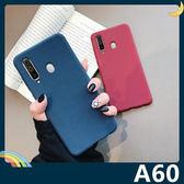 三星 Galaxy A60 絨面流沙保護套 軟殼 磨砂防滑 細沙質感 全包款 矽膠套 手機套 手機殼