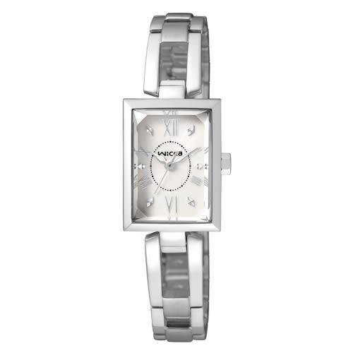 CITIZEN wicca法式優雅甜心腕錶/白面/BE1-011-11