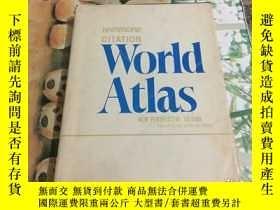二手書博民逛書店HAMMOND罕見CITATION WORLD ATLAS, NEW PERSPECTIVE EDITION(精裝