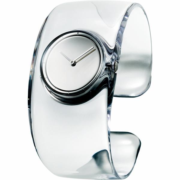 ISSEY MIYAKE 三宅一生 O系列 清透時尚手錶-33mm VJ20-0100S(SILAW001Y)