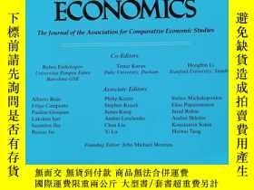 二手書博民逛書店journal罕見of comparative economics 2018年6月 英文版Y42402