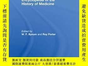 二手書博民逛書店Companion罕見Encyclopedia Of The History Of Medicine-醫學史百科全