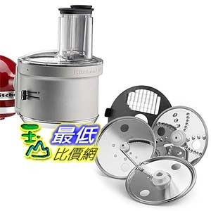 [美國直購] KitchenAid KSM2FPA Food Processor Attachment with Commercial Style Dicing Kit, Silver 攪拌機配件