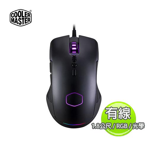 Cooler Master 酷媽 CM310 1.8米 RGB 有線 光學 電競滑鼠