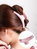 髮抓正韓女士時尚簡約鯊魚夾髮飾大髮夾飾品成人洗澡頭髮抓夾髮卡頭飾