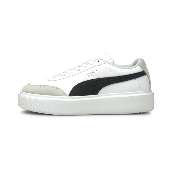 PUMA Oslo Maja Archive Wns 女款白色網球休閒鞋 37505701