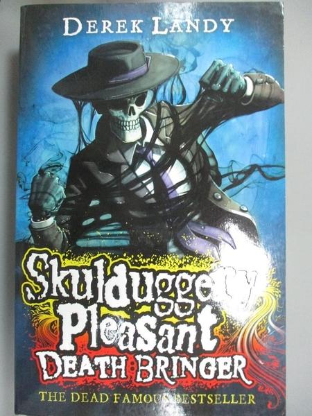 【書寶二手書T7/原文小說_LGU】Skulduggery Pleasant : Death Bringer_Derek
