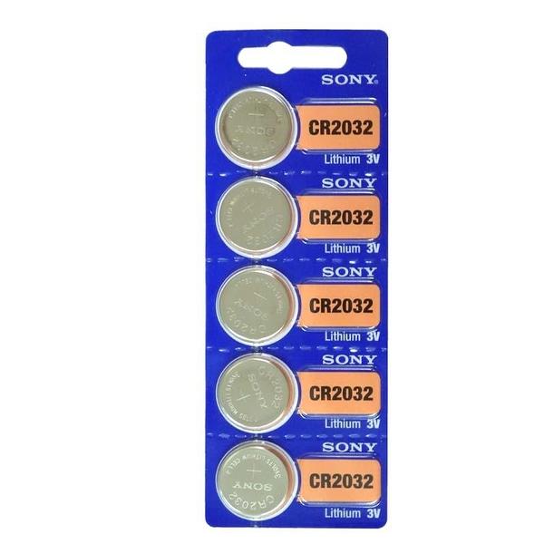 【鼎立資訊】SONY電池CR2032 主機板電池CR2032,+3V水銀圓型電池