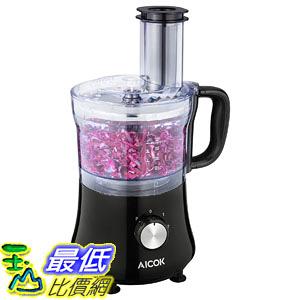[107美國直購] 切菜機食物處理機 Aicok 8-Cup Food Processor, Meat Processor 2-Speed 500W Exact Slice