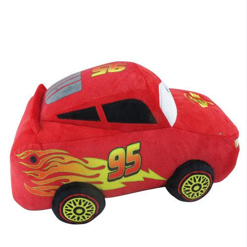 《LEing》迪士尼CARS2汽車總動員閃電麥坤抱枕毯★funbox生活用品★_RD00035