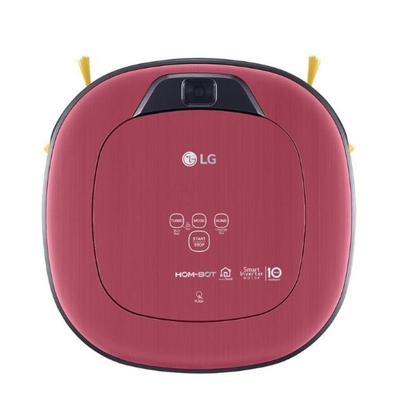 LG WIFI變頻單眼掃地機器人VR66413LVM 紅 【加贈 LG K4 智慧手機】