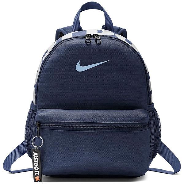 NIKE 後背包 肩背包 BRASILIA JUST DO IT MINI 深藍 小包 休閒 (布魯克林) BA5559-410