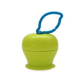 美國Grapple矽膠創意小物 三爪玩具俏吸盤-青蘋果
